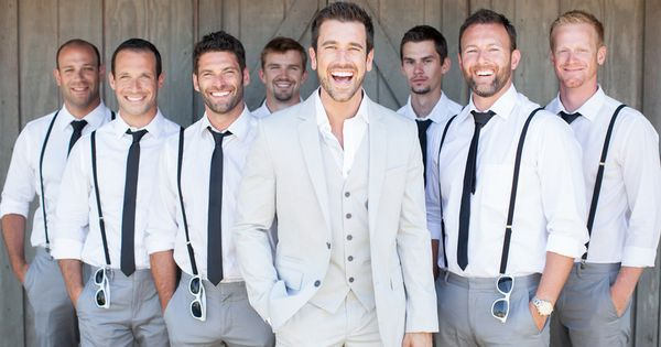 men's wedding attire for beach wedding