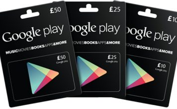 play store gift card code