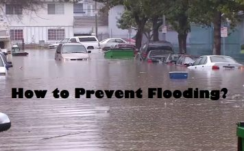 how to prevent flooding