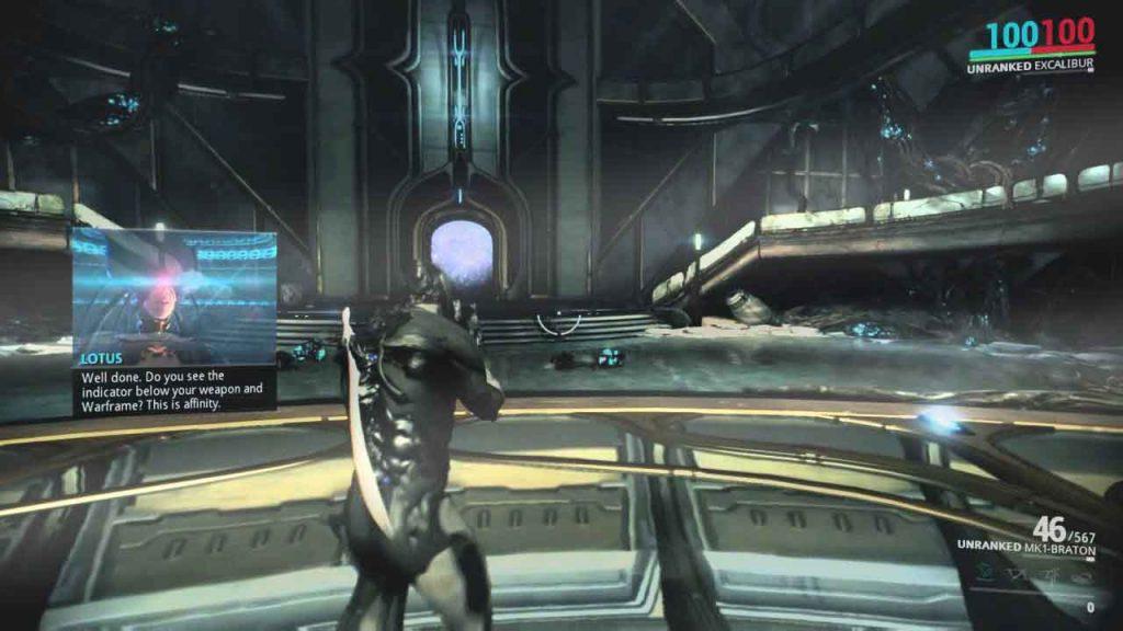 warframe gameplay