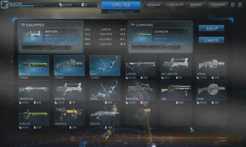 warframe weapon