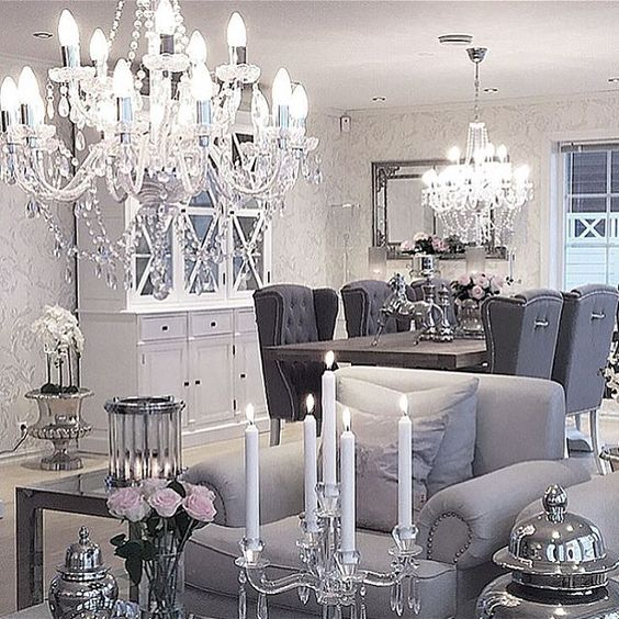 hollywood glam  family room