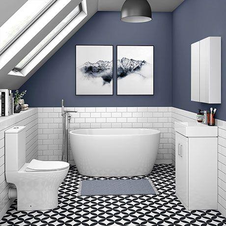 small Victorian bathroom